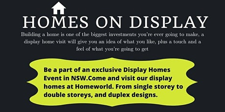 Biggest Display homes show - Build your dream home with King Homes tickets