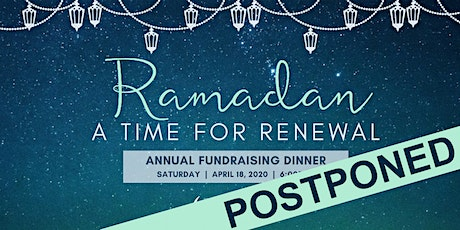 ICSC Annual Pre-Ramadan Dinner: A Time For Renewal tickets