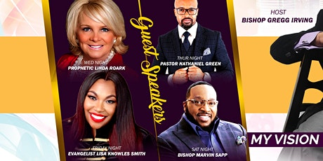 My Vision is clear in 2020 Holy Convocation tickets