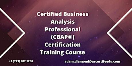 CBAP Certification Training Course in Birmingham,AL,USA tickets