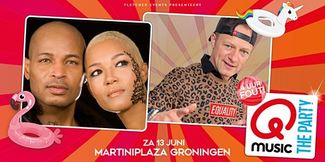 Qmusic the Party XL - 4uur FOUT! in Groningen (Groningen) 13-06-2020 tickets