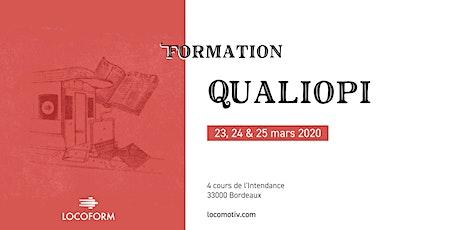 Formation Qualiopi • 3 jours // Reporté billets