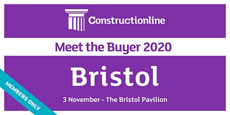 Bristol Constructionline Meet the Buyer 2020 tickets
