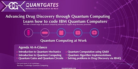 Drug Discovery with Quantum Computers-Online Training tickets