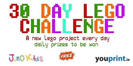 Kids 30 Day Lego Challenge (kids all ages) tickets