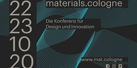 materials.cologne-Die Konferenz für Design und Innovation Tickets