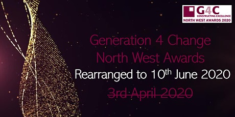 G4C North West Awards - UPDATED tickets