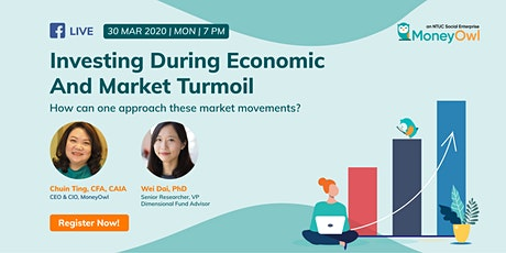 Webinar: Investing During Economic And Market Turmoil tickets