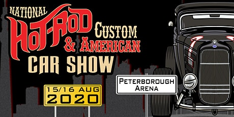 Hot Rod, Custom & American Show.  15&16 Aug 2020 tickets