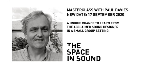 RESCHEDULED: Paul Davies Masterclass tickets