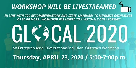 GLOCAL2020 - A Diversity & Inclusion Outreach  Workshop - (Livestream) tickets