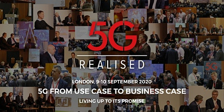 5G Realised 2020 - 2nd Annual Conference tickets