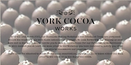 Chocolate Making - Chocolate Truffles tickets