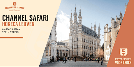 Channel Safari HORECA LEUVEN tickets