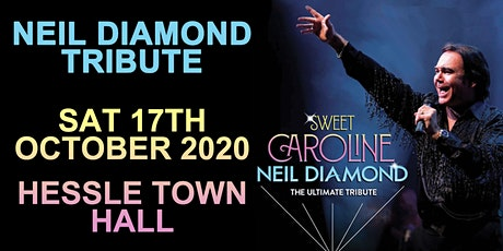 Neil Diamond Tribute @ Hessle Town Hall tickets