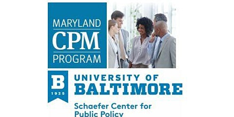 Maryland Certified Public Manager Program - Information Session tickets