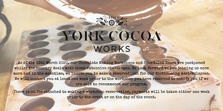 Introduction to Chocolate Making - Masterclass tickets