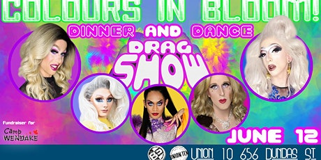 Colours In Bloom- Drag Show, Dance & Dinner tickets