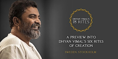 Preview into Dhyan Vimal's 6 Rites of Creation Virtual Session tickets