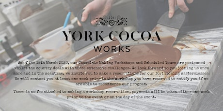 Chocolate Tempering Methods - Masterclass tickets