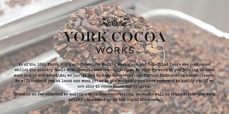 Chocolate Making from Cocoa Beans to Chocolate Bar - Masterclass tickets