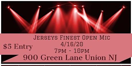 Jerseys Finest Open Mic-  Host by Andre tickets