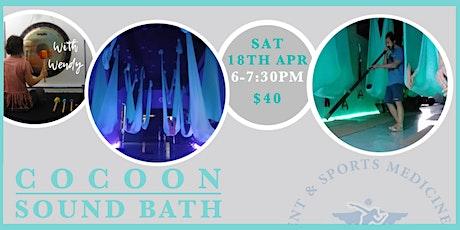 Cocoon Sound Bath  tickets