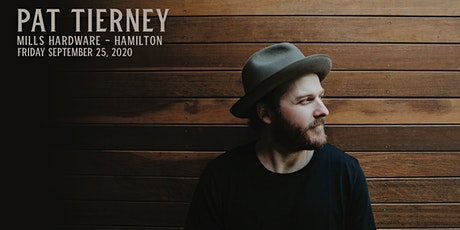 Pat Tierney + TBA tickets