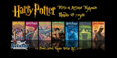 Harry Potter Books Trivia at Aviator Taphouse tickets