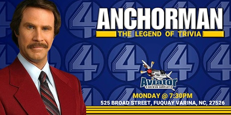 Anchorman Trivia at Aviator Taphouse tickets