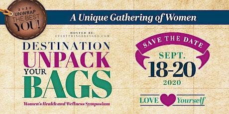 Destination Unpack Your Bags - 2020 Unwrap the BEST You tickets