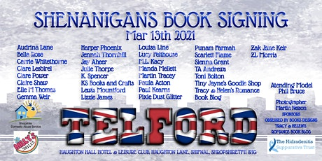 Shenanigans In Telford Book Signing tickets
