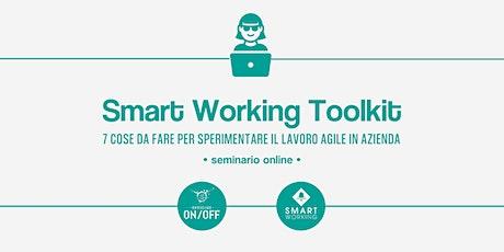 Smart Working Toolkit | Seminario Online biglietti