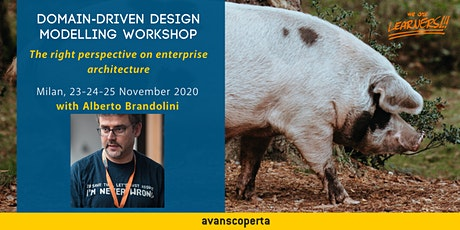 Domain-Driven Design Modelling Workshop - November 2020 biglietti