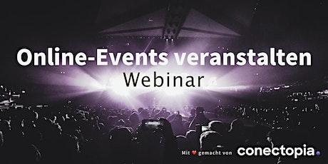 Online-Events veranstalten - Webinar Tickets