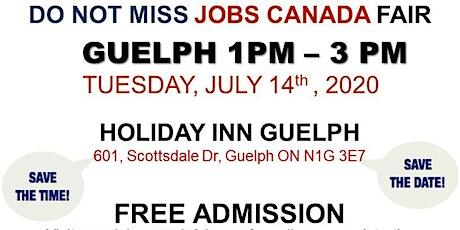 Guelph Job Fair – July 14th, 2020 tickets