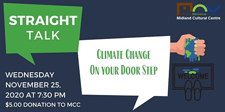 Straight Talk: Climate Change - On Your Door Step tickets