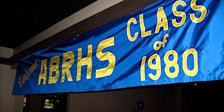 ABRHS Class of 1980 Reunion tickets