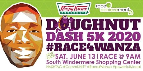 Doughnut Dash 5k 2020 #Race4Wanza tickets