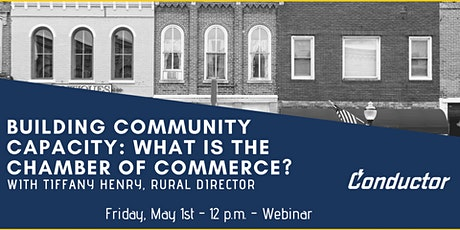 Building Community Capacity: What is the Chamber of Commerce?  entradas