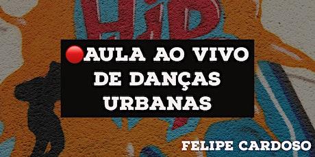 Aula On-line de Danças Urbanas - Felipe Cardoso ingressos