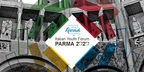 Italian Youth Forum Parma 2020 - Conferenza Sostenibilità biglietti