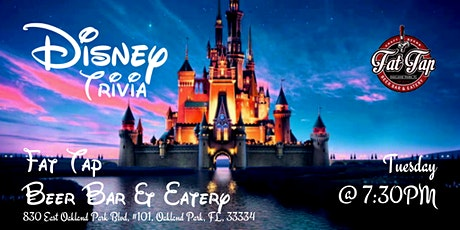 Disney Movie Trivia at Fat Tap Beer Bar & Eatery tickets