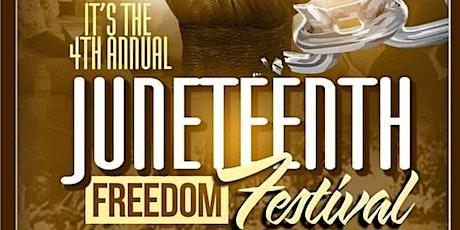 4th Annual Junteenth Freedom Festival - Keynote Speaker, Raquel M.R. Thomas tickets