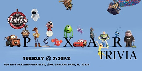 Disney Pixar Films Trivia at Fat Tap Beer Bar & Eatery tickets