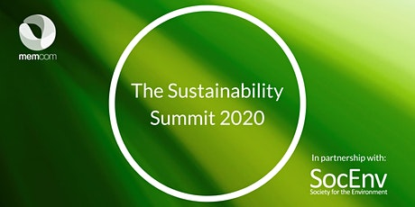 The Sustainability Summit 2020 tickets