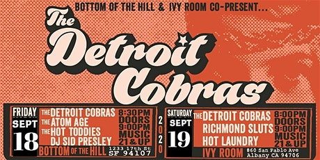 The Detroit Cobras, The Richmond Sluts, Hot Laundry tickets