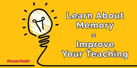 Webinar: Working Memory in the Classroom  tickets