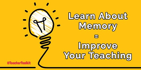 Webinar: Working Memory in the Classroom  tickets