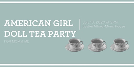 American Doll Tea Party for Mom & Me tickets